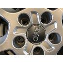 4 x Original Audi Q2 81A GA 17 Zoll Winterreifen Winterräder Reifen 7,5mm TOP