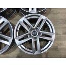 4x Original Audi A4 8W 7x17 Zoll Felgen  ET42 8W0601025P  silber
