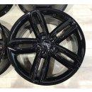 4x Original Audi A6 A6 Allroad  4G9 8,5x20 Zoll ET43 4G9601025G schwarz Felge