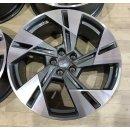 4x Original Audi E-Tron 9x20 ET38 4KE601025T titan  BiColor