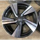 4x Original Audi Q2 81A 7x18 ET45 Zoll Felgen 81A601025G BiColor titan