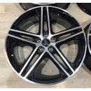 4x Original Audi Q5 8x20 ET39 Zoll Felgen 80A601025N Bicolor