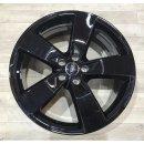 4x Original Audi A6 4G 8,5x20 Zoll ET43 Felgen 4K0601025K schwarz