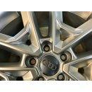 4 x Original Audi Q2 SQ2 GA 8x18 Zoll ET45 Winterreifen 81A601025R Reifen 235/45