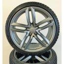 4 x Original Audi R8 420 titan 19 Zoll Winterreifen 420601025BD/BE