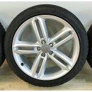 4 x Original Audi A6 4G Allroad 8,5x20 Zoll ET43 Winterreifen 4G9601025G Reifen 255/40