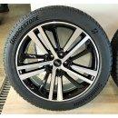 NEU 4 x Original Audi Q5 FY 8x20 Zoll ET39 Winterreifen 80A601025L/AE bicolor 255/45