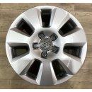 4x Original Audi A6 4G C7 7,5x16 Zoll Felgen ET37  4G0601025 silber Alufelgen