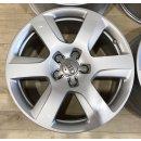 4x Original Audi A6 4G C7 8x17 Zoll ET39 Felgen 4G0601025A Alufelgen