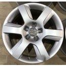 4x Original Audi A8 4H D4 7,5x17 Zoll ET26 Felgen 4H0601025A Alufelgen