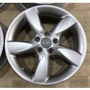 4x Original Audi A3 S3 8V 6x17 Zoll ET48 Felgen 8V0071497 Alufelgen