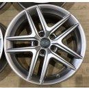 4x Original Audi A4 B9 Allroad 6,5x17 Zoll ET28 Felgen 8W9601025D Alufelgen