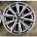 4x Original Audi Q5 FY 80A 7x17 Zoll ET34 Felgen 80A601025J Alufelgen