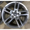 4x Original Audi A3 S3 8P 7,5x17 Zoll ET56 Felgen...