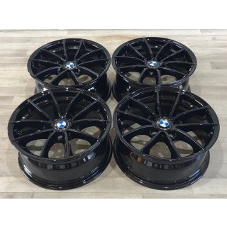 4x Original BMW X3 F25 X4 F26 7,5x17 Zoll ET32 Felgen 6787575 Alufelgen schwarz