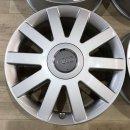 4x Original Audi A8 S8 4D 7,5x8 Zoll ET39 Felgen 4D0601025AK Alufelgen
