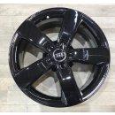 4x Original Audi A6 4G C7 7,5x18 Zoll ET37 Felgen 4G0601025M Alufelgen schwarz