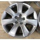 4x Original Audi A8 4H D4 7,5x18 Zoll ET26 Felgen 4H0601025B Alufelgen