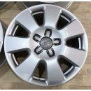 4x Original Audi Q7 4L 7,5x18 Zoll ET53 Felgen 4L0601025AF Alufelgen