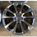 4x Original Audi A3 S3 8P 7,5x18 Zoll ET54 Felgen...