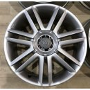 4x Original Audi A3 S3 8P 7,5x18 Zoll ET56 Felgen 8P0601025AJ Alufelgen