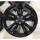 4x Original Audi Q7 4M 8,5x19 Zoll ET28 Felgen 4M0601025C Alufelgen schwarz