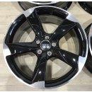 4x Original Audi A3 S3 RS3 8P 8,5x19 Zoll ET53 Felgen 8P0601025DB/CN Alufelgen Rotor bicolor