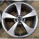 4x Original Audi A3 S3 RS3 8V 8x19 Zoll ET49 Felgen 8V0601025ES Alufelgen