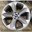 4x Original BMW X6 E71 9x19 Zoll ET18/48 Felgen 6774893-6774894 Alufelgen