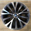 4x Original BMW 7er F01 F02 5er GT 8,5/9,5x19 Zoll ET25/39 Felgen 6788703 6788704 Alufelgen