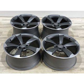 4x Original Audi R8 420 V8 V10 8,5/11x19  Zoll ET42/50 Felgen 420601025AB/T Rotor Alufelgen