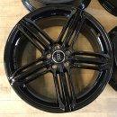 4x Original Audi A8 S8 A7 4H 9x20 Zoll ET37 Felgen 4H0601025T Alufelgen schwarz