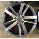 4x Original Audi Q7 4L 9x20 Zoll ET60 Felgen 4L0601025M Alufelgen bicolor