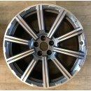 4x Original Audi Q7 4M 9x20 Zoll ET33 Felgen 4M0601025AE Alufelgen bicolor