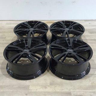 4x Original Audi A3 S3 8V 8x19 Zoll ET49 Felgen 8V0601025FK Alufelgen schwarz anthrazit