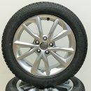 4 x Original Audi TT 8S 7x17 Zoll ET47 Winterreifen 8S0071497 225/50 Reifen