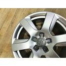 4x Original Audi A6 4G C7 7,5x17 Zoll ET37 Felgen 4G0601025L Alufelgen