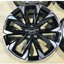4x Original Audi A6 Allroad 4K9 8,5x20 Zoll ET37 Felgen 4K9601025B Alufelgen bicolor