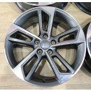 4x Original Audi A4 S4 8W 8x18 Zoll ET40 Felgen 8W0601025BL Alufelgen bicolor