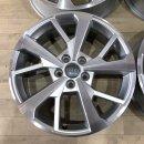 4x Original Audi Q3 83A F3 7x18 Zoll ET43 Felgen 83A601025J Alufelgen