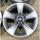 4x Original BMW 3er F30 F31 4er F32 7,5x16 Zoll ET37 Felgen 6796237  391 Alufelgen