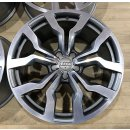 4x Original Audi R8 420 V8 V10 GT LMS 8,5/11x19 Zoll ET50/42 Felgen 420601025AN-AM Alufelgen