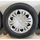 4 x Original VW Tiguan 5Q AudiQ3 F3 6,5x17 Zoll ET38 Winterreifen 5QF601027G Reifen 215/65 Stahl