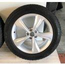 4 x Original Audi Q5 SQ5 FY 7x19 Zoll ET34 Winterreifen 80A601025K Reifen 235/55