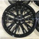 4x Original Audi A7 S7 4K8 C8 8,5x20 Zoll ET30 Felgen 4K8601025F Alufelgen schwarz