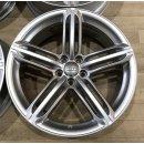 4x Original Audi Q5 SQ5 8R 8,5x20 Zoll ET33 Felgen 8R0601025BJ Alufelgen