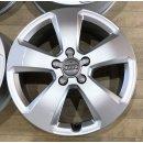 4x Original Audi A3 S3 8V 6x17 Zoll ET48 Felgen 8V0601025C Alufelgen