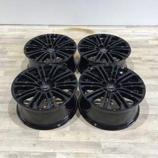 4x Original Audi A5 S5 8W F5 8x18 Zoll ET31 Felgen 8W0601025EE Alufelgen schwarz