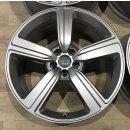 4x Original Audi Etron 9x20 Zoll ET38 Felgen 4KE601025S Alufelgen e-tron