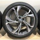 4 x Original Audi A3 8Y 8x18 Zoll ET46 Sommerreifen 8Y0601025H Reifen 225/40